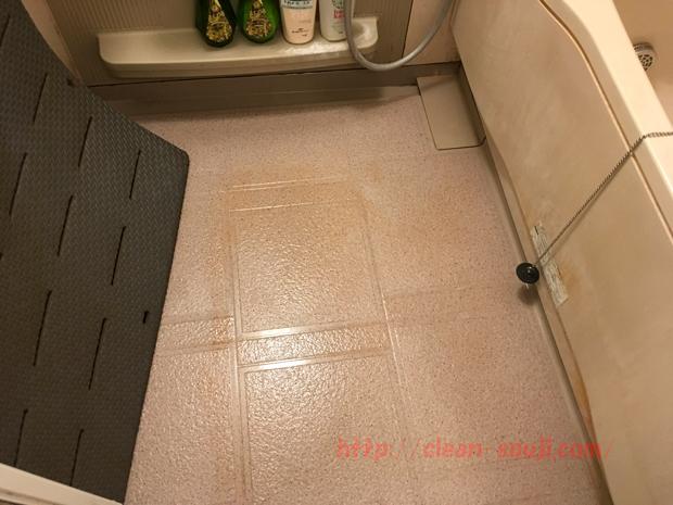 オキシクリーン お風呂の床掃除