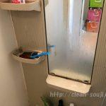 オキシクリーン 水垢 鏡
