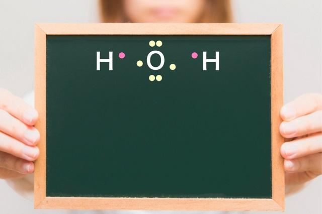 水の電子式の例